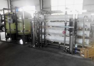 8T/h single pass RO plant