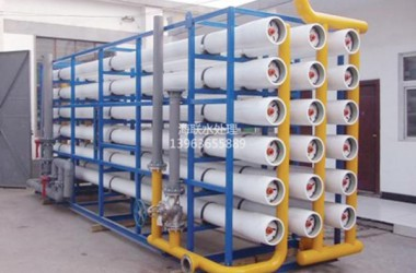 Installation and operation of reverse osmosis pure water equipment