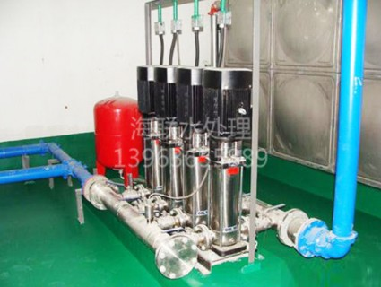 constant pressure water supply equipment
